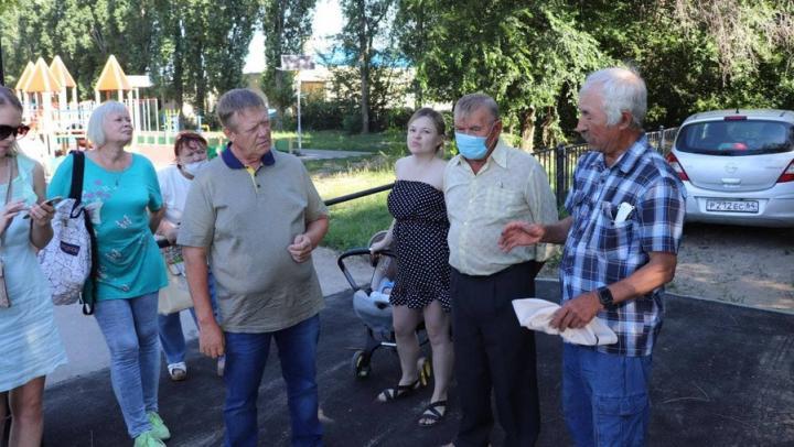 В посёлке Новосоколовогорский продолжится ремонт тротуаров и благоустройство