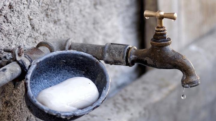 Нет воды в Заводском районе