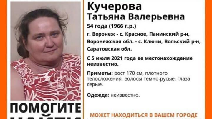 Добровольцев для поиска жительницы Воронежа ищут в Саратове