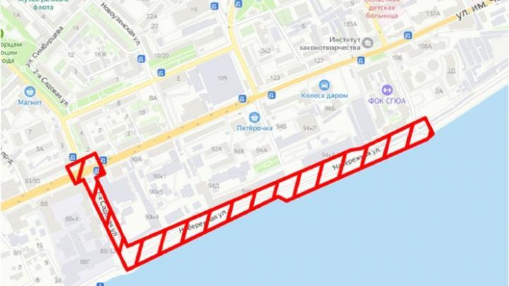 В Саратове продолжается благоустройство Новой набережной