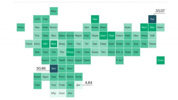 Прививочная карта России: стало известно о количестве вакцинированных по регионам