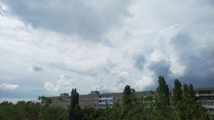 Дождь после обеда в Саратове
