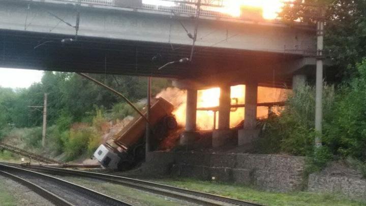 После пожара на 1-м жилучастке без газа остались три микрорайона в Заводском