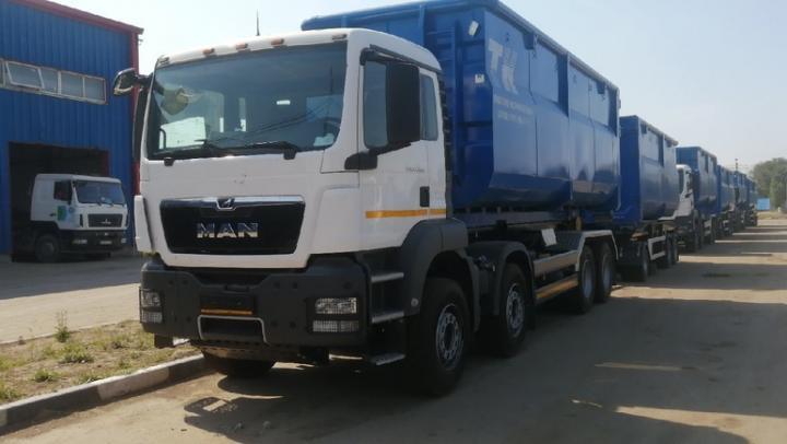 АО «Ситиматик» обновило спецтехнику для транспортирования отходов в Саратовской области