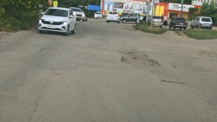 Саратовцы не могут доехать до магазина по улице Перспективной