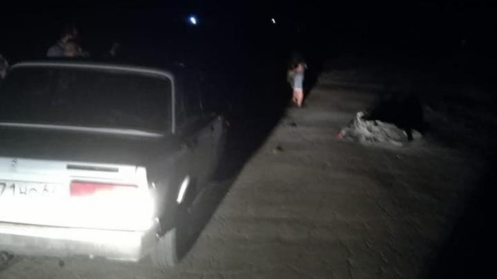 """Мотоциклист попал в больницу после столкновения с """"семеркой"""" в Балаковском районе"""