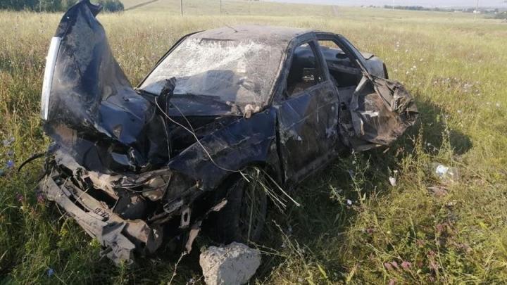 В Татищевском районе разбился водитель «Лады Приора»