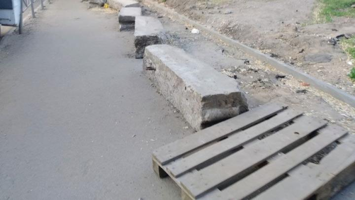 На двух улицах во Фрунзенском районе до конца лета отремонтируют тротуары