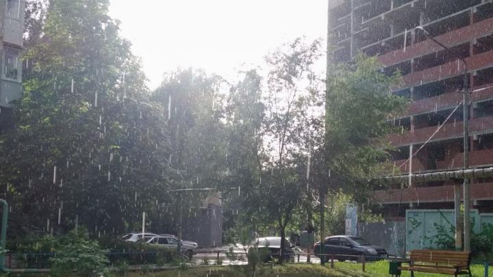 Легкий дождь пройдет в Саратове