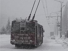 В центре города нарушитель угодил под троллейбус