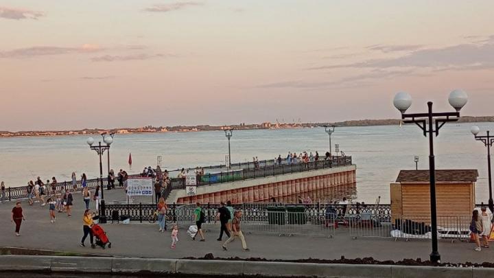На новой набережной Саратова установят фонтан за 10 миллионов