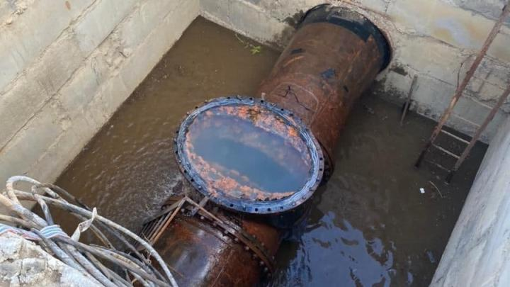 В Комсомольском поселке до вечера не будет воды