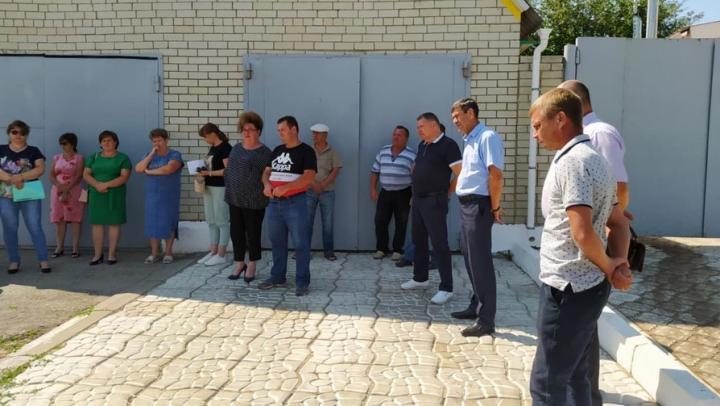 Александр Романов совершил рабочую поездку в Балтай