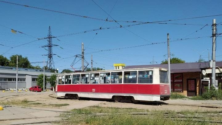 Трамвай № 8 встал в Заводском районе