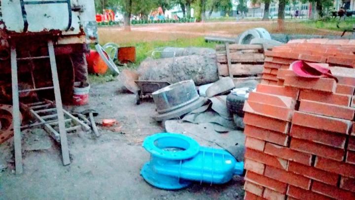 Четыре улицы в Заводском районе до вечера без воды