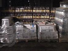 В Саратове изъяли более ста тысяч бутылок алкоголя