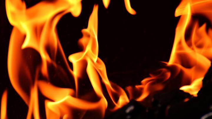 Пожар под Екатериновкой из-за неисправной проводки