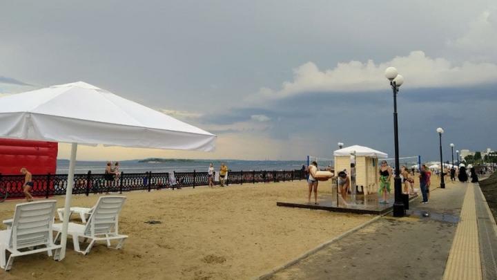 На новом саратовском пляже найдено бактериальное загрязнение