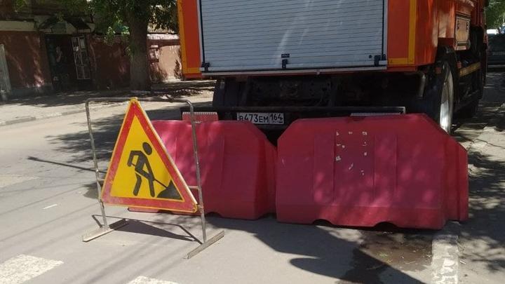 В Волжском районе Саратова на 11 дней закроют перекресток