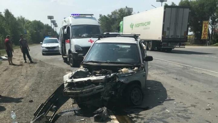 «Страшная» авария на въезде в Дубки обошлась без пострадавших