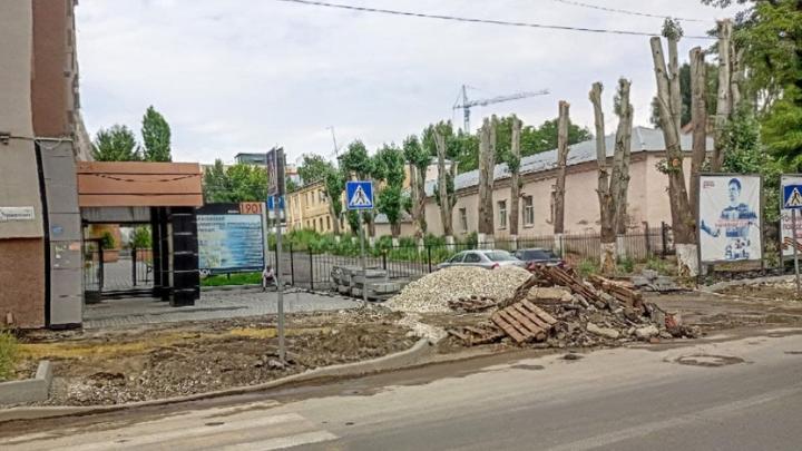 На ремонт тротуаров в Ленинском районе выделят более 63 миллионов рублей