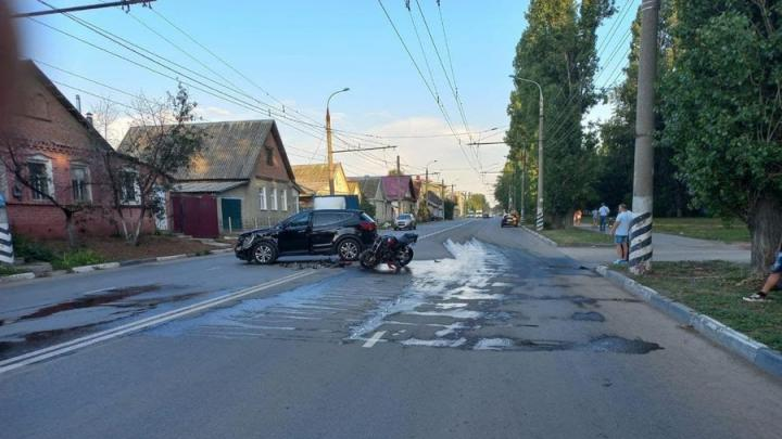 Мотоциклист пострадал в ДТП в Балакове