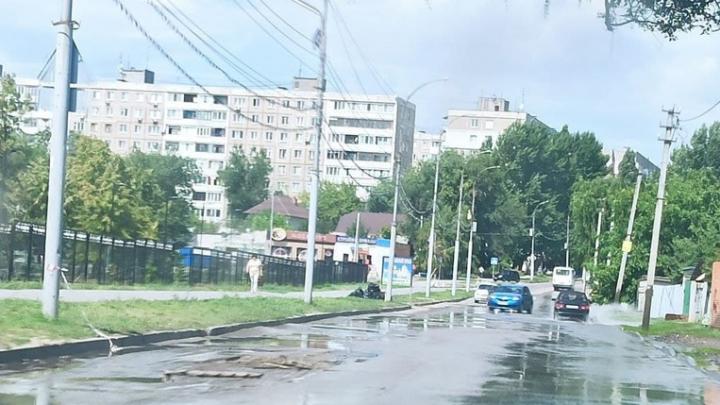 КВС накажут за потоп в Комсомольском поселке
