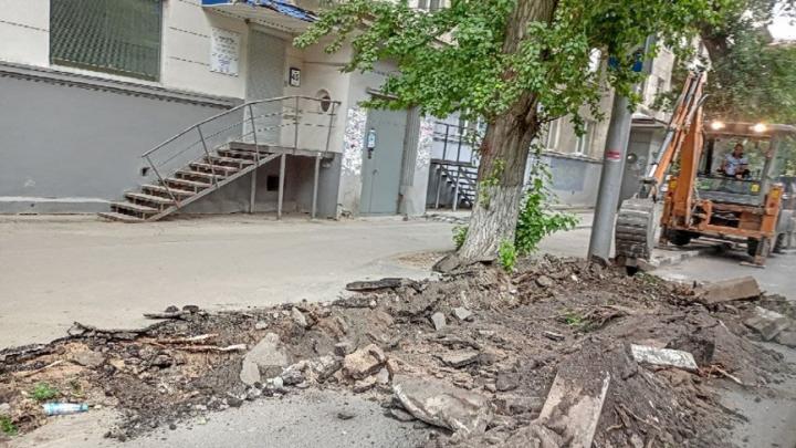 На ремонт тротуаров в Октябрьском районе Саратова выделят еще 37 миллионов