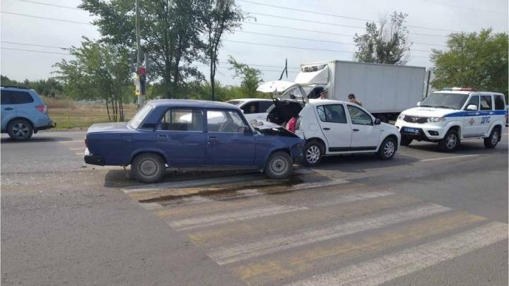 72-летняя автоледи из Энгельса пострадала в ДТП