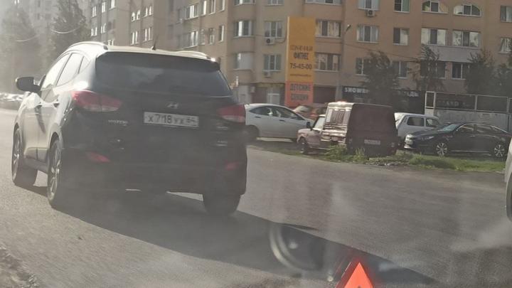В Солнечном врезались «Газель» и Hyundai