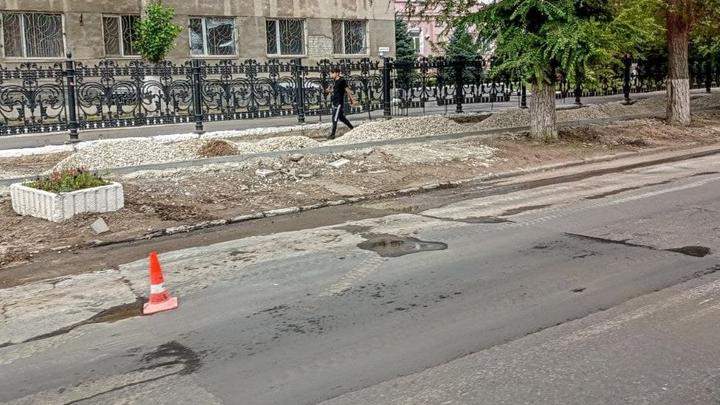 Еще на четырех улицах Ленинского района обновят тротуары