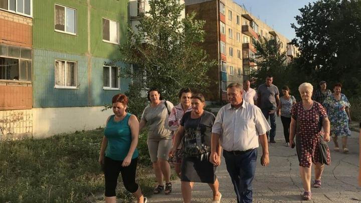 Панков: Программу благоустройства дворов в Вольске можно начать с Кленов