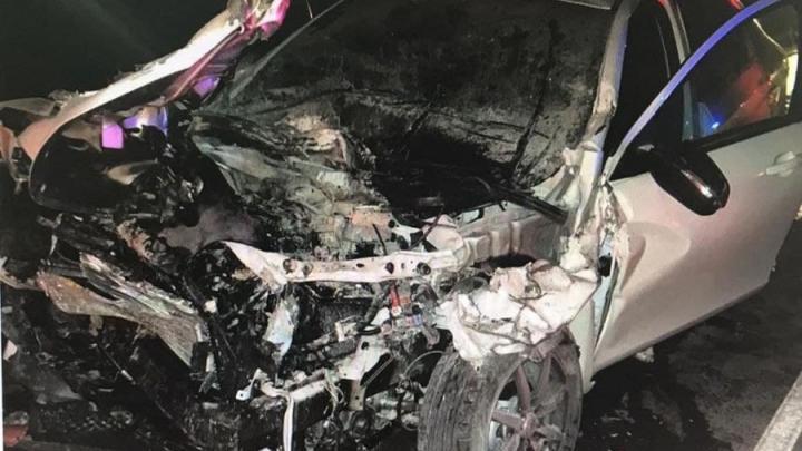 Два молодых парня погибли в ДТП под Саратовом: «Лада» врезалась в КамАЗ