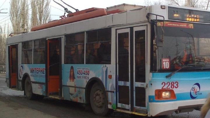 В Саратове продлен троллейбусный маршрут № 10