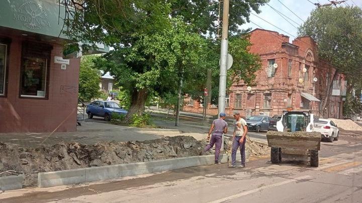 Еще три улицы отремонтируют в Саратове в следующем году