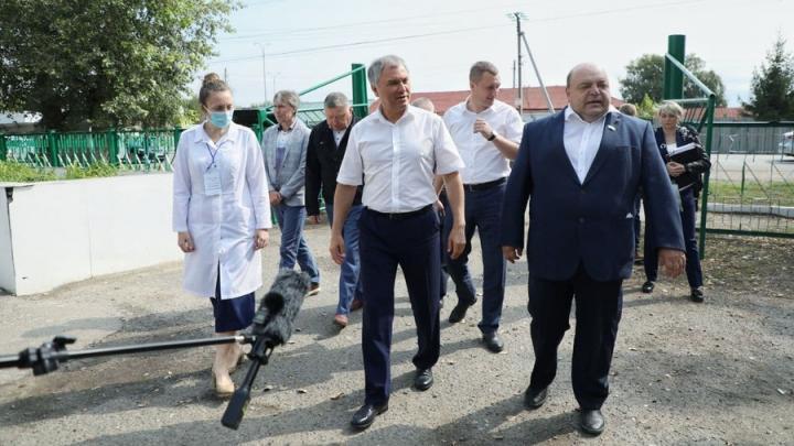 Спикер Госдумы раскритиковал систему здравоохранения в Петровске