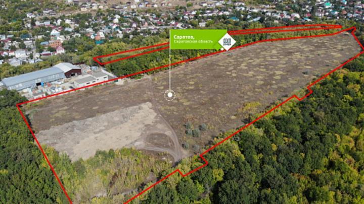 В Саратове выставлен на продажу гектар земли рядом с Кумысной поляной