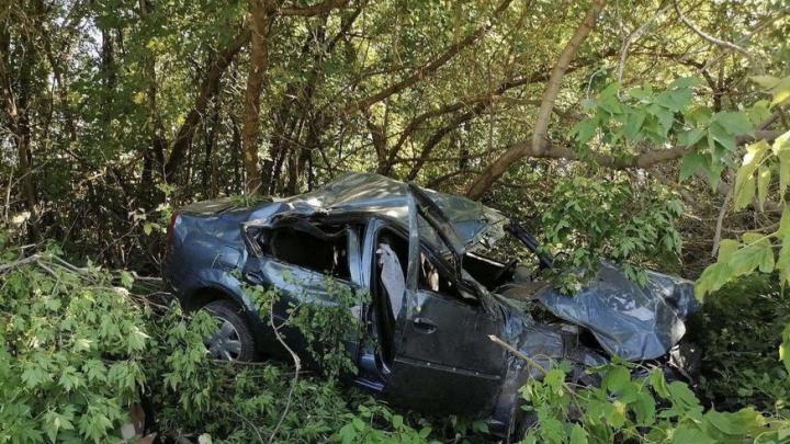 Две машины перевернулись в Советском районе: погибла пожилая женщина