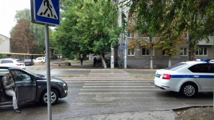 9-летнего мальчика сбили на переходе в Заводском районе
