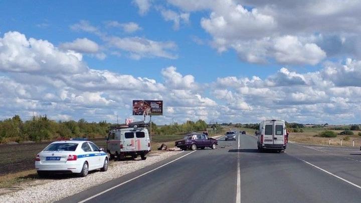 """На трассе в Аткарском районе погибла водитель """"шестерки"""""""
