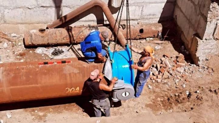 Отключение воды до полуночи в Жасминном поселке