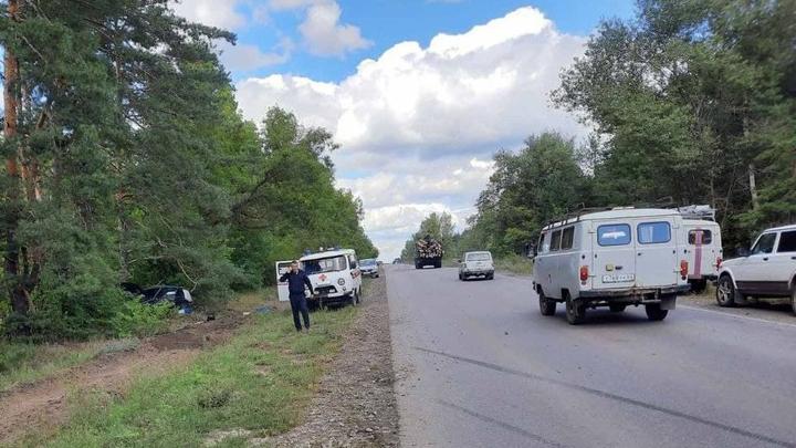В Балашовском районе разбилась водитель «четырнадцатой»