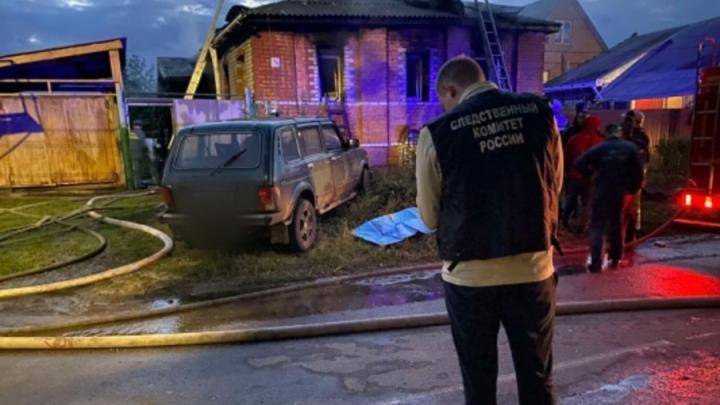 Трехлетний мальчик погиб на пожаре в Балашове