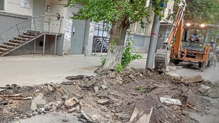В Заводском районе тротуары отремонтируют еще на шести улицах