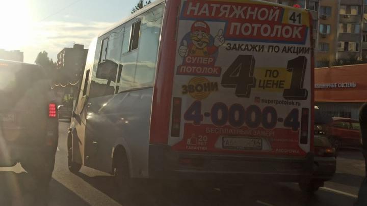 На Тархова столкнулись «десятка» и 41-я маршрутка