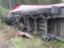 "Под Пугачевом ""семерка"" опрокинула грузовик"