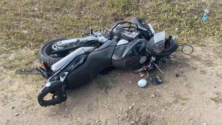 Мотоциклист попал в больницу после столкновения с иномаркой в Заводском районе