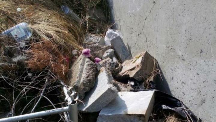 Увекское кладбище очистят от мусора, заверила администрация