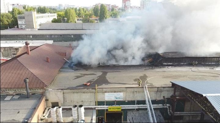 Стали известны подробности пожара на Астраханской