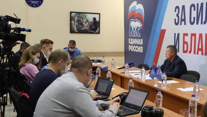 Николай Панков: «Единую Россию» поддержали более 60% избирателей области